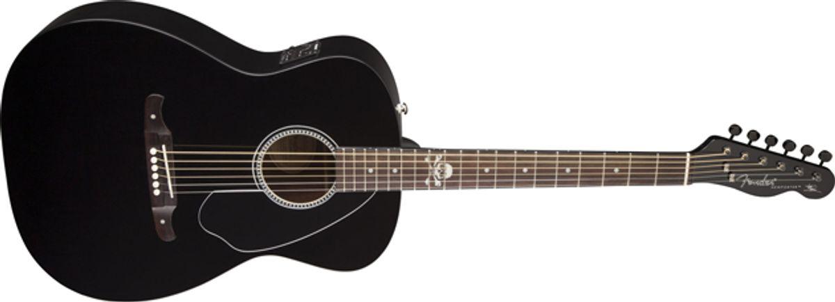 Fender Unveils the Avril Lavigne Newporter Acoustic
