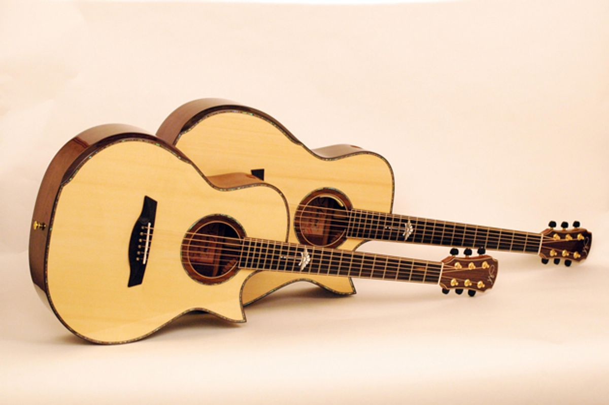 Maestro Guitars Releases Double Top Series of Acoustic Guitars