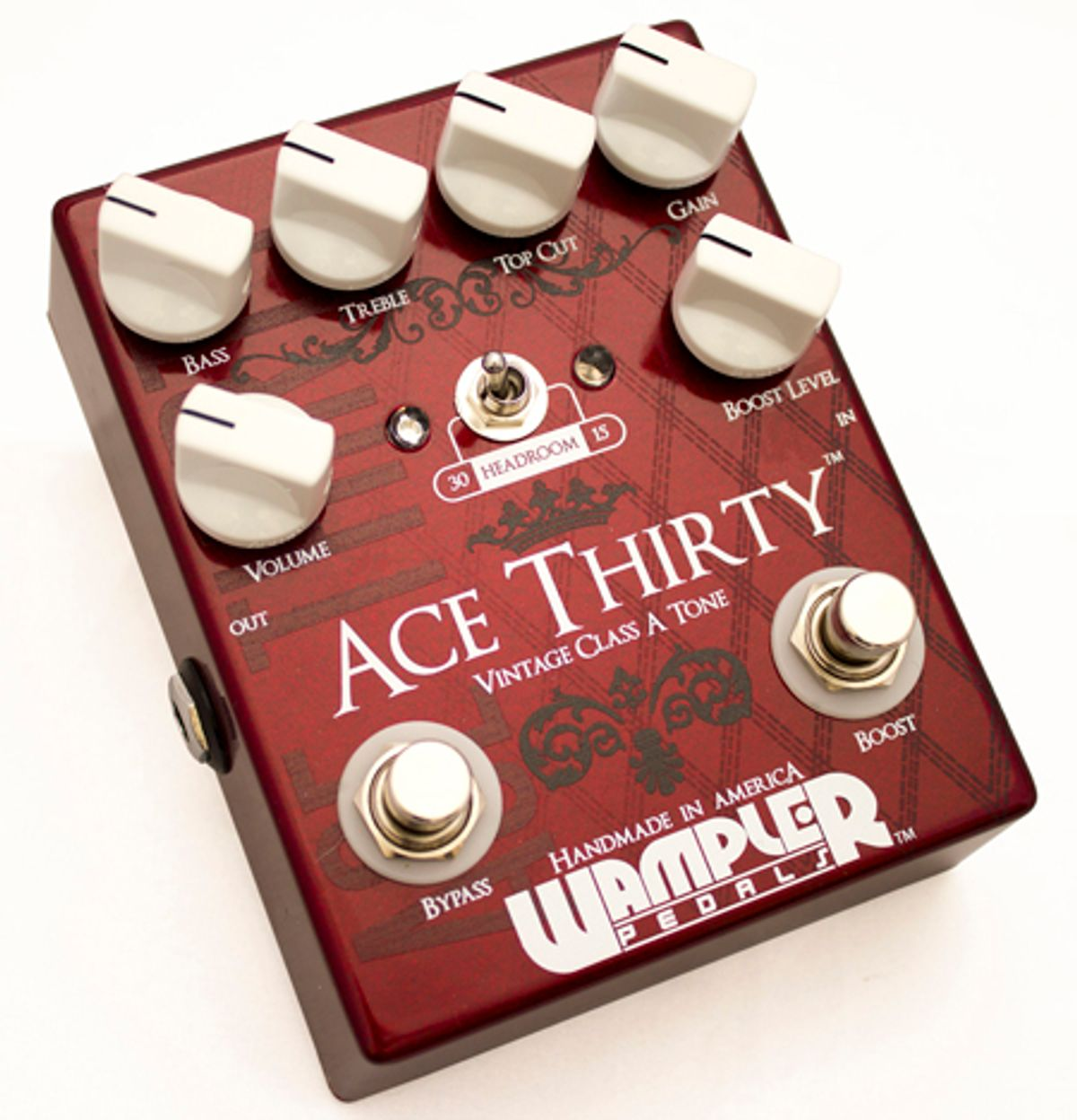 Wampler Pedals Announces Ace Thirty