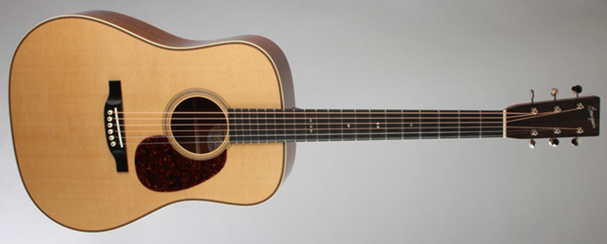 Bourgeois Guitar Announces the Ray LaMontagne Signature Series Acoustic Guitar
