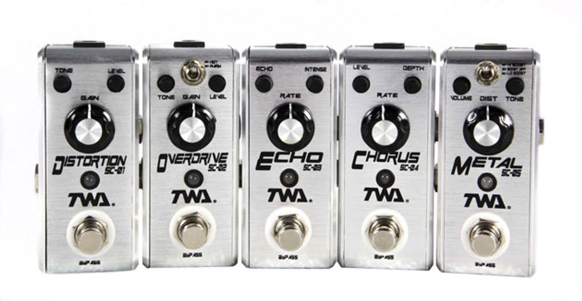 Godlyke Releases Line of TWA Fly Boys Pedals