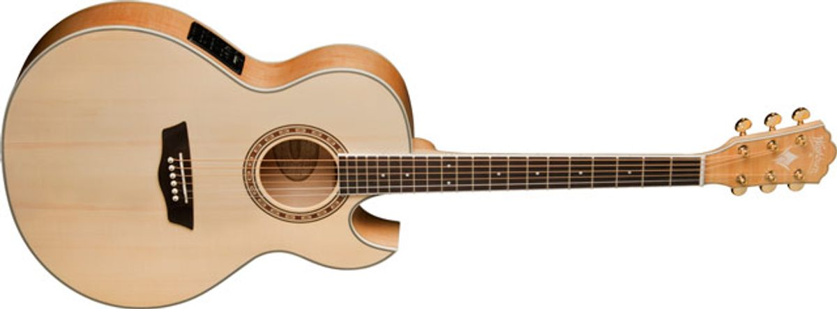 Washburn Guitars Introduces the EA40SCE Acoustic/Electric Guitar