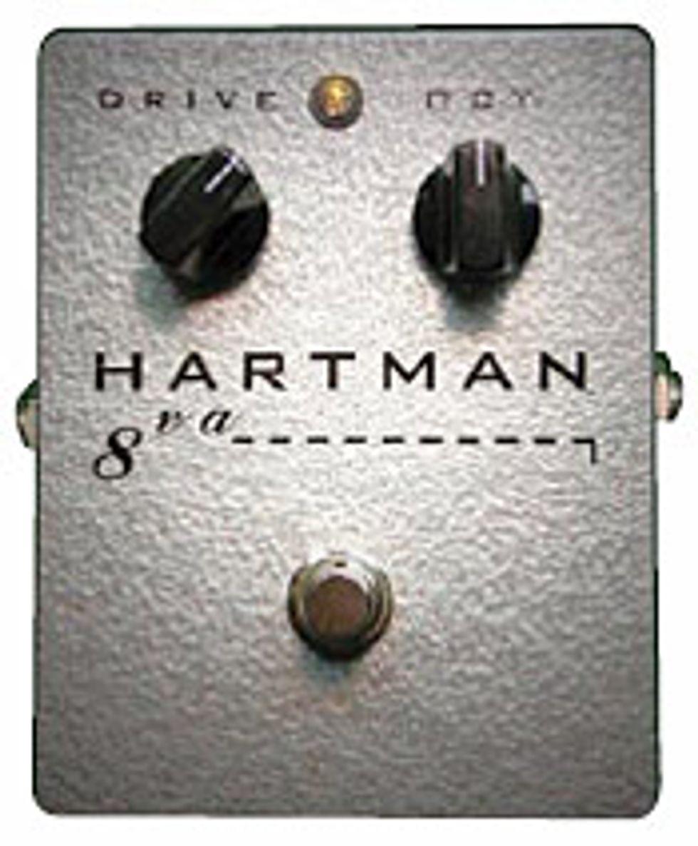 Hartman Electronics 8va Octave Fuzz Pedal