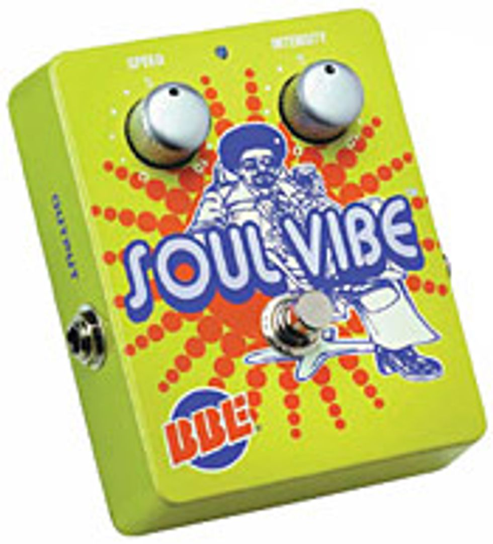 BBE Soul Vibe Effects Pedal