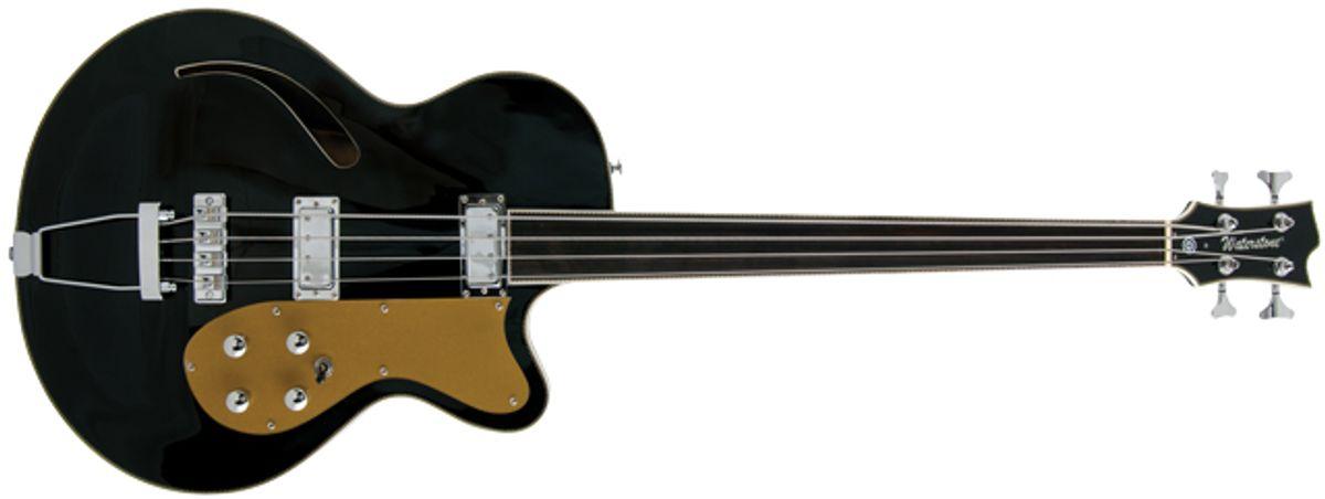 Waterstone Meaden FL Fretless Bass Review