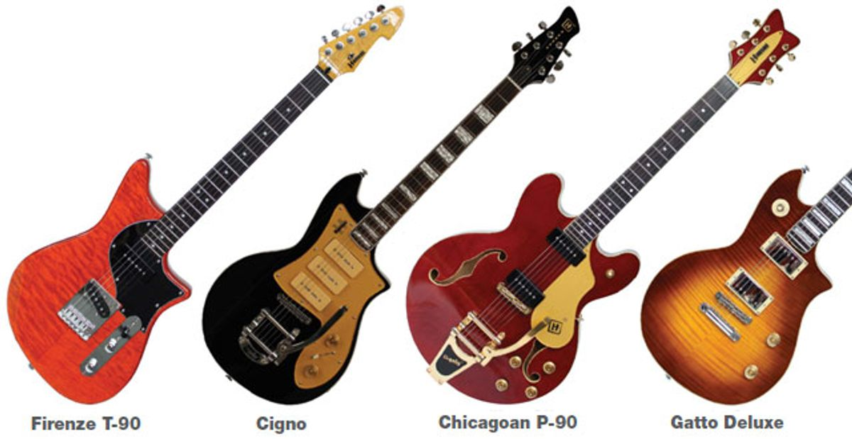 Modern Builder Vault: Hanson Guitars