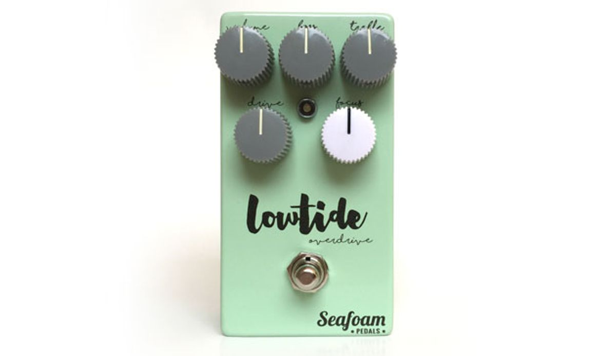Seafoam Pedals Introduces the Lowtide Overdrive