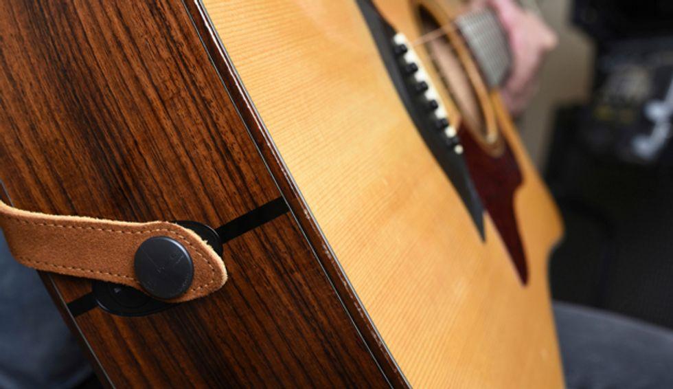 Strap Jack Unveils Endpin Locking System Premier Guitar