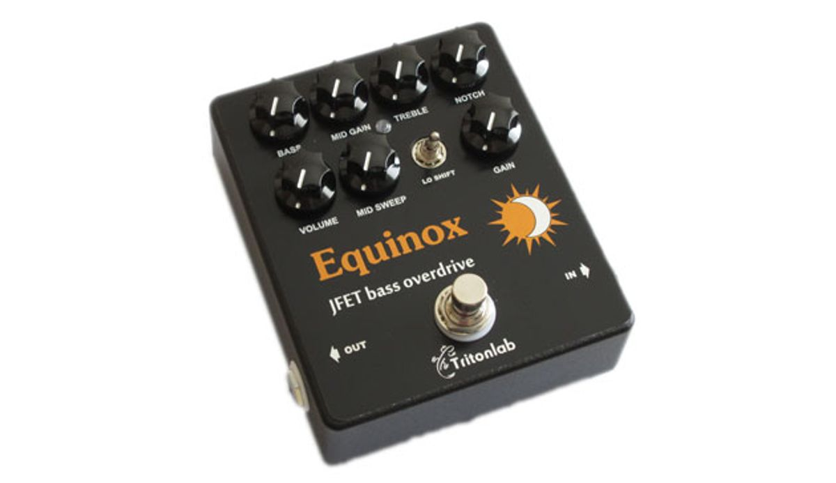 Tritonlab Unveils the Equinox
