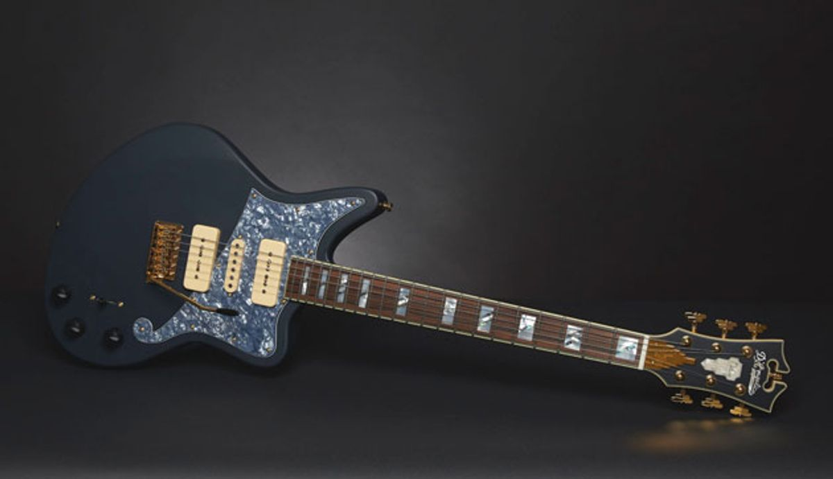 D'Angelico Unveils the Deluxe Bob Weir Bedford