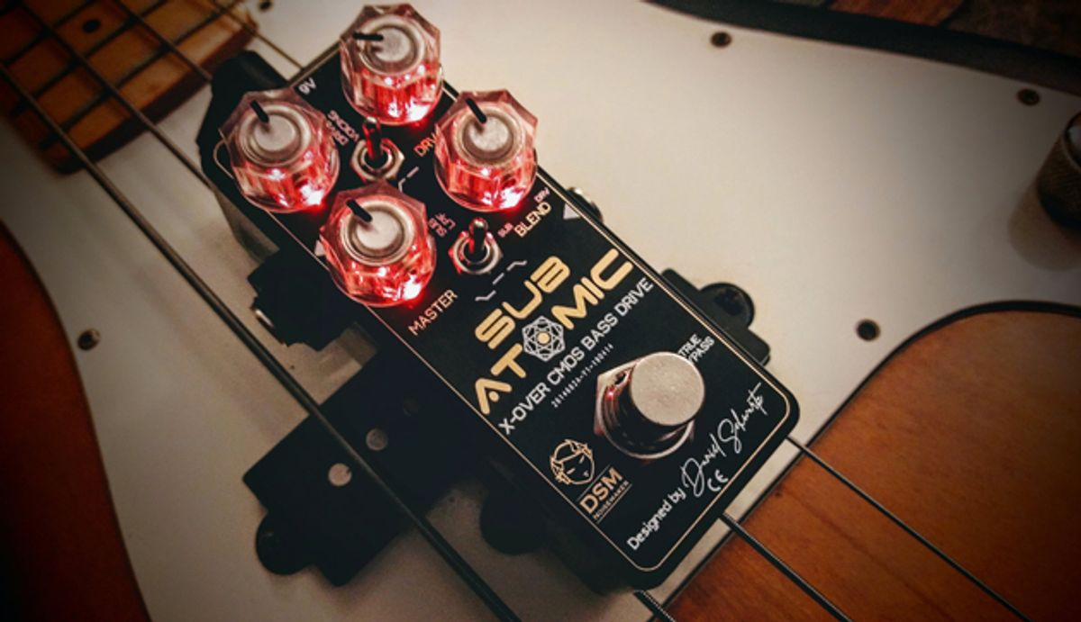 DSM Noisemaker Releases the Sub Atomic X-Over CMOS Bass Drive