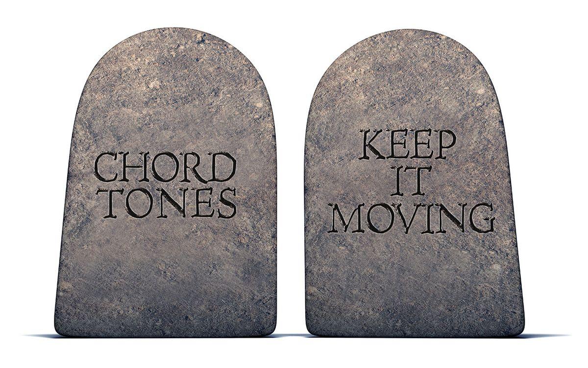 The Two Commandments of Shredding Chromatics
