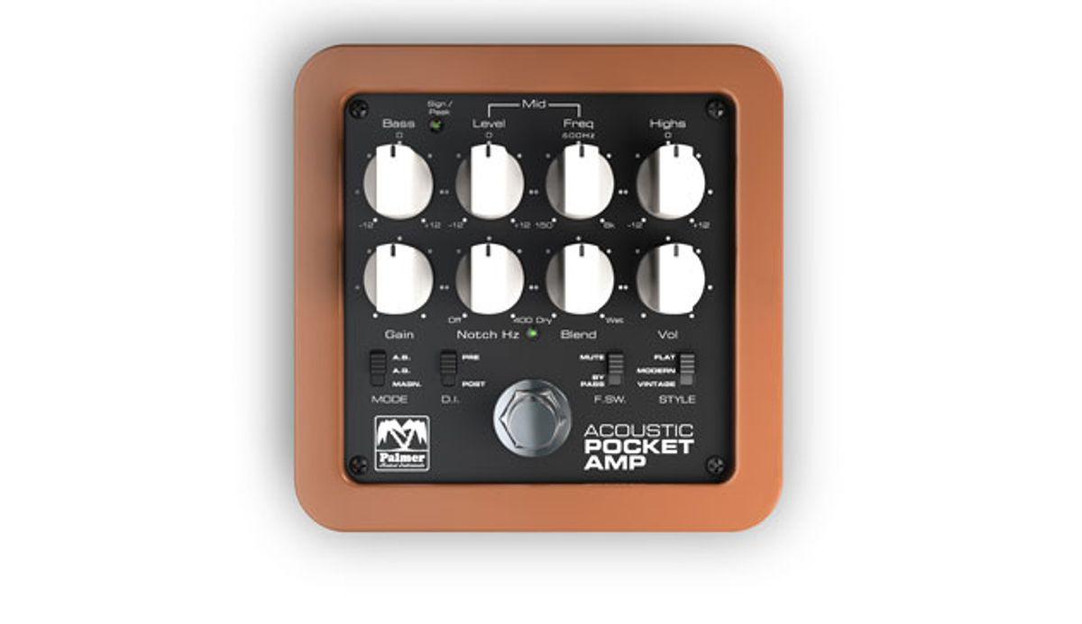 Palmer Presents the Acoustic Pocket Amp