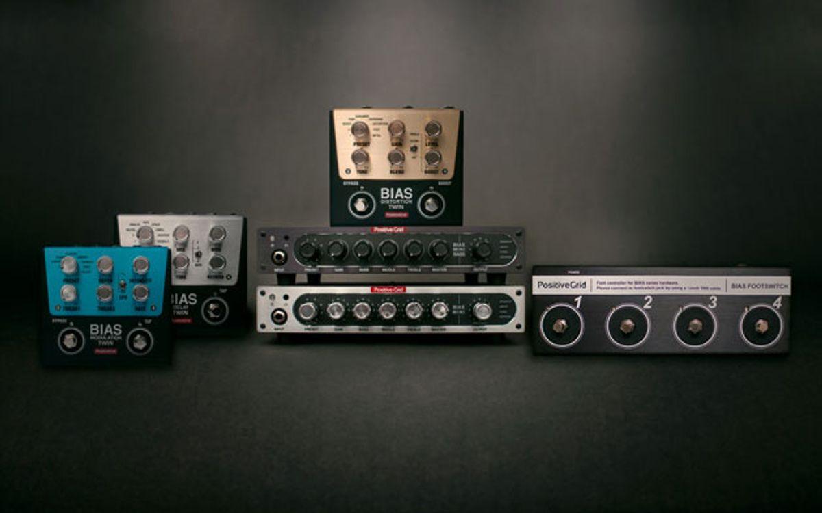 Positive Grid Announces BIAS Mini Amplifier and Twin Pedals