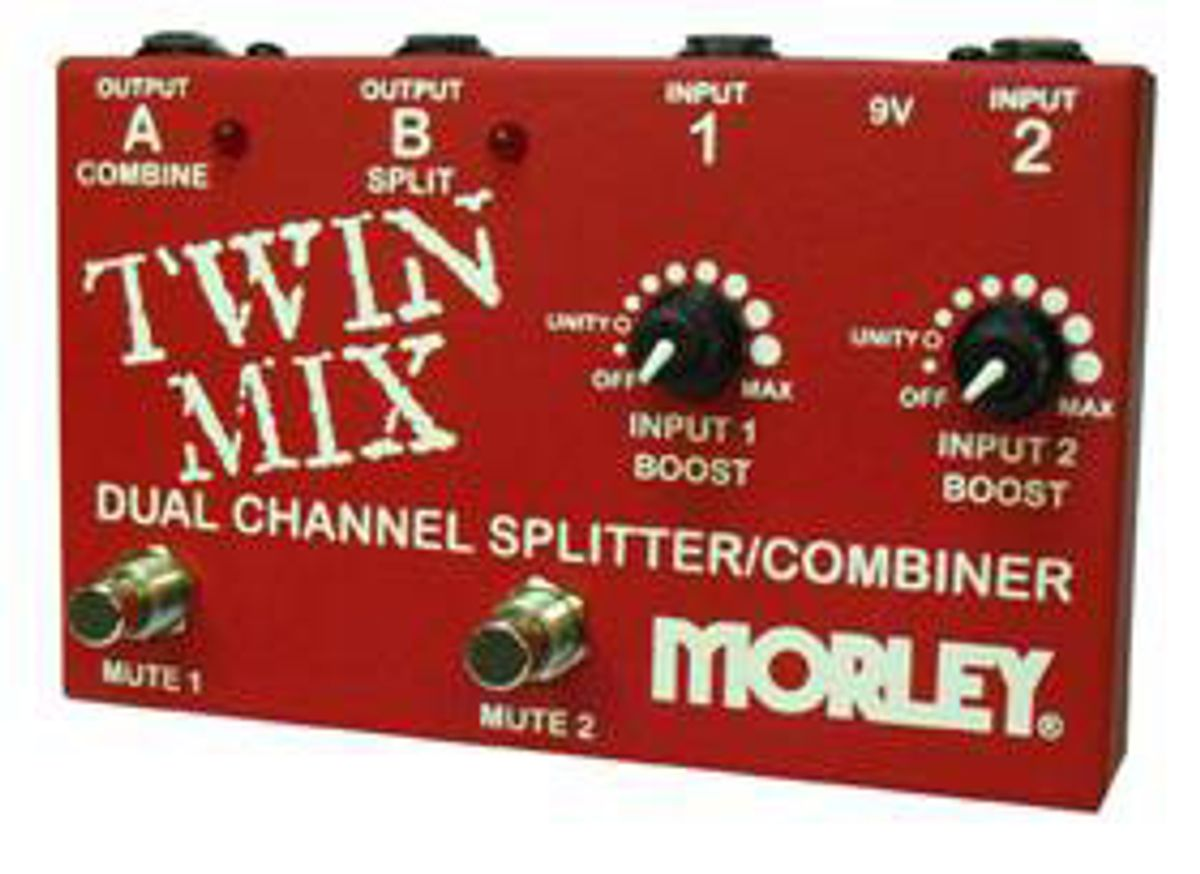 Morley Releases Twin Mix ABY Box