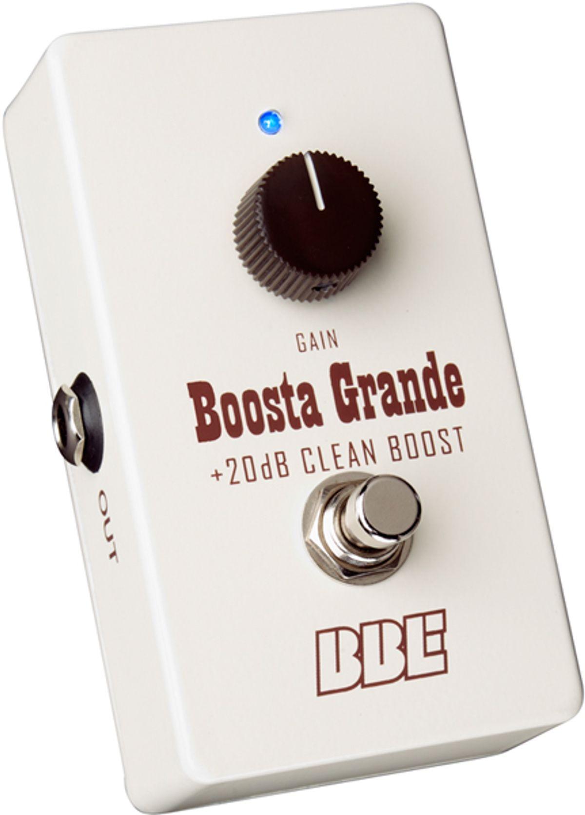 BBE Releases New Version of the Boosta Grande BG-20