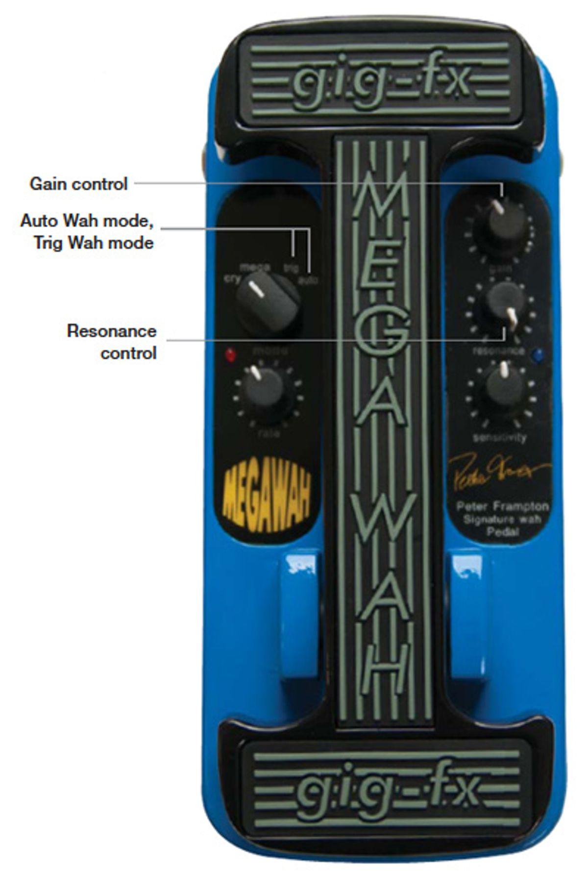 Gig-FX Peter Frampton MegaWah Pedal Review