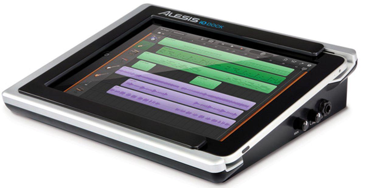Alesis Unveils iO Dock for iPad and iPad2