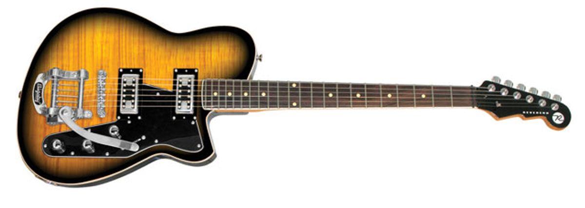 Reverend Guitars Announces the 15th Anniversary Flatroc Guitar