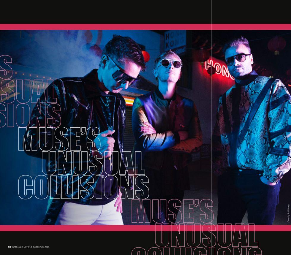 Muse S Matt Bellamy Unusual Collisions Premier Guitar