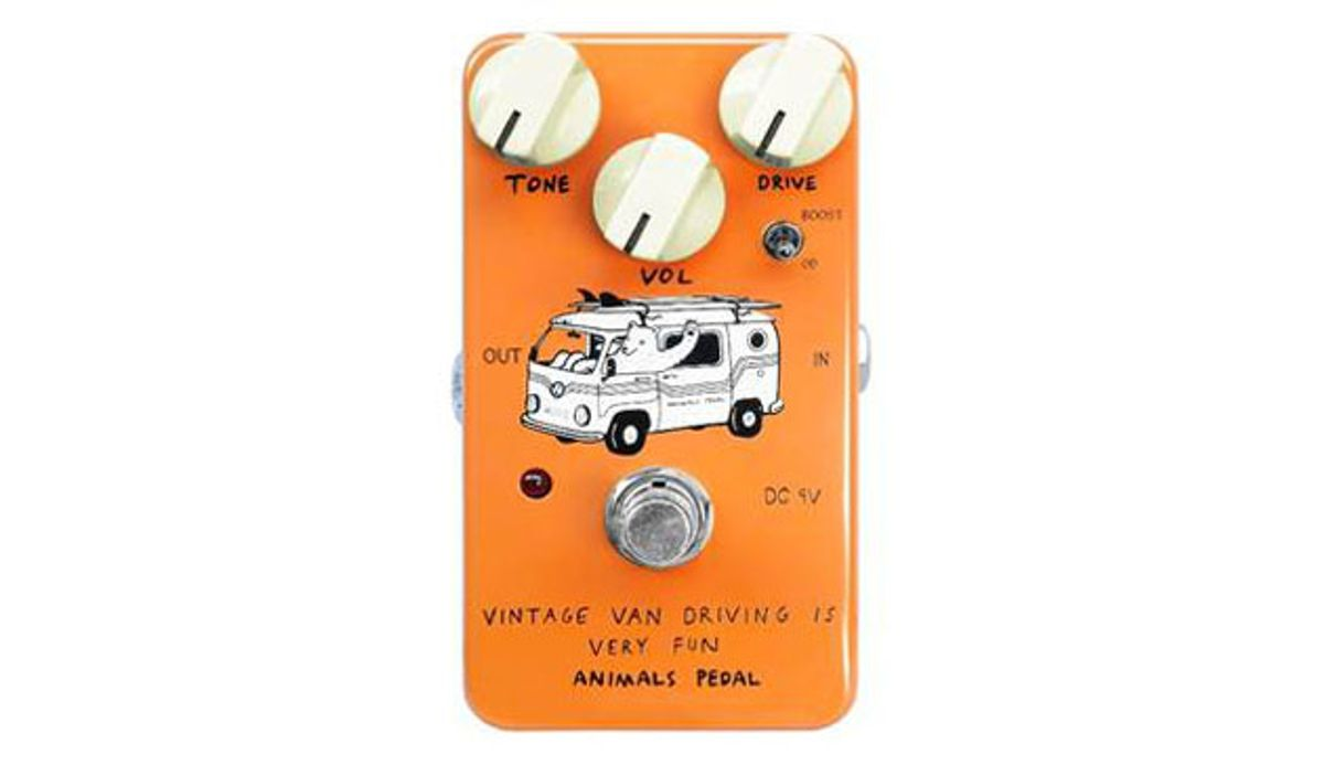 Animals Pedal Launches the Vintage Van Driving is Very Fun Overdrive