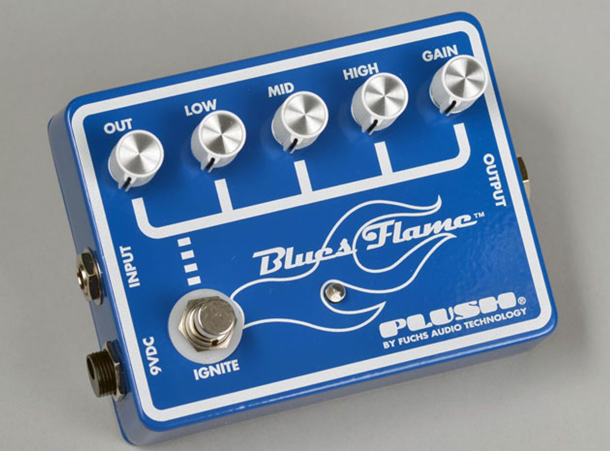 Fuchs Audio Expands Plush FX Pedal Line With the Blues Flame, Phone Tone, and Double Plush