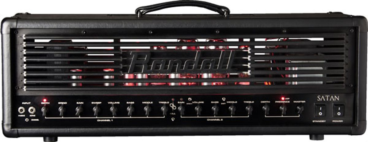 Randall Introduces Ola Englund Signature Amp and Launches Pedal Line