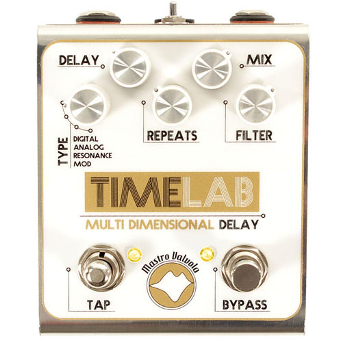 Mastro Valvola Pedals Introduces the TimeLab Multidimensional Delay