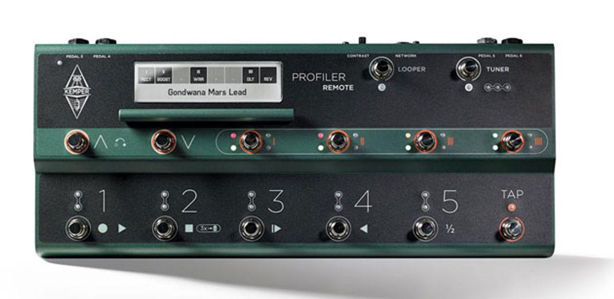 Kemper Announces the Profiler Remote