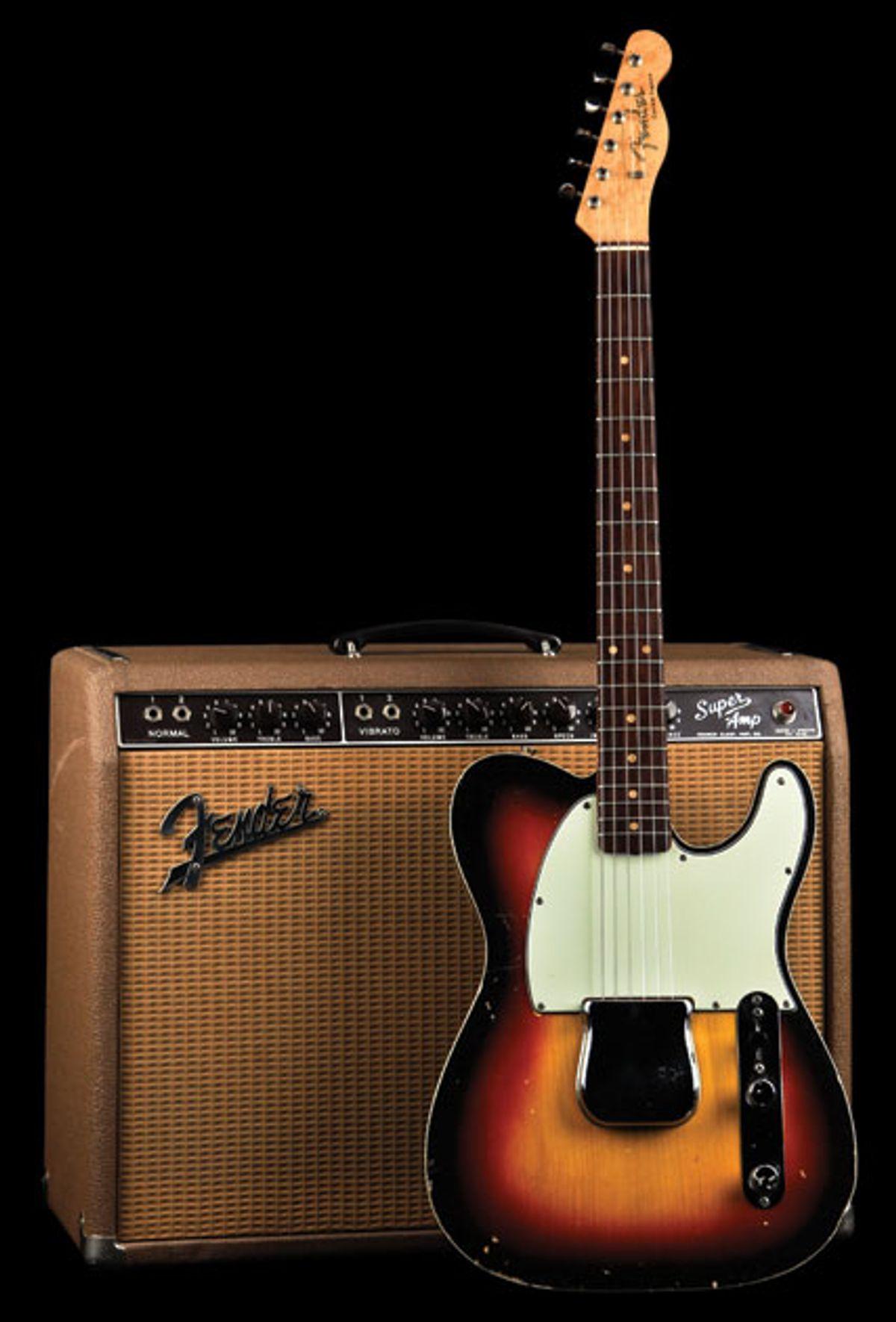 Vintage Vault: 1963 Fender Esquire Custom and 1962 Fender Super
