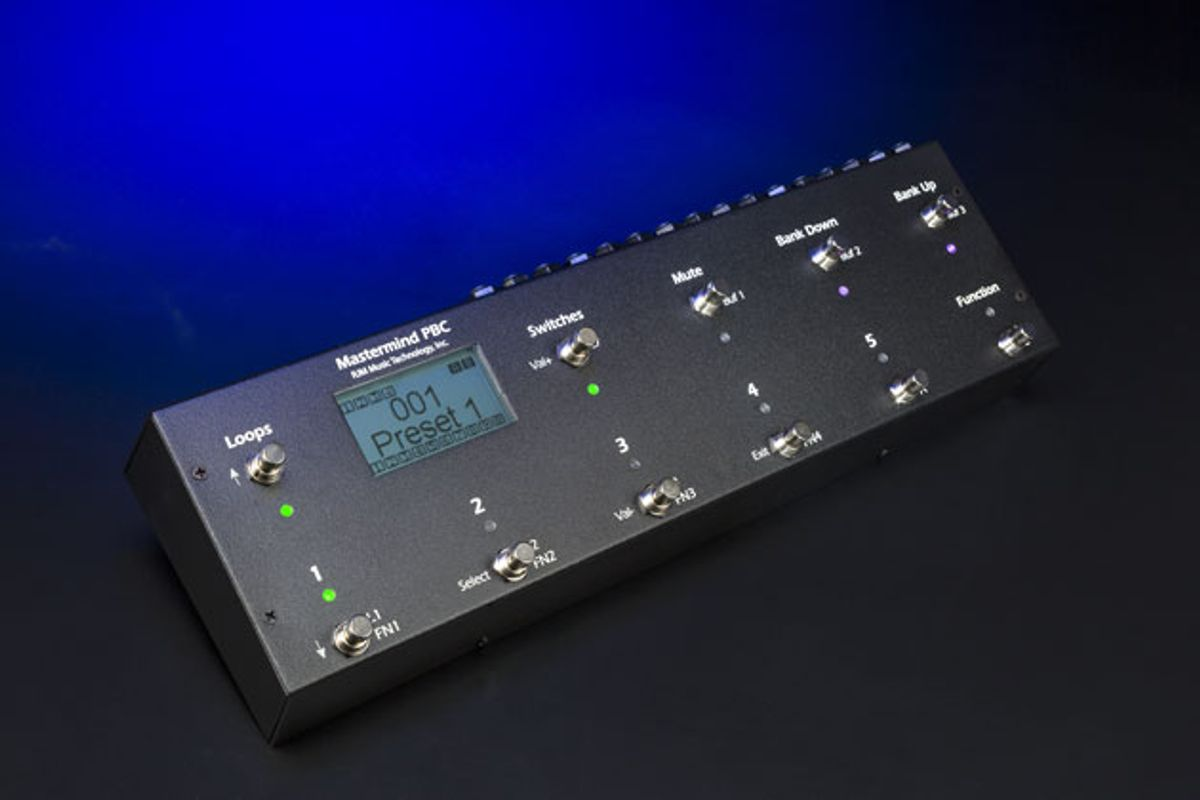 RJM Music Technology Unveils the Mastermind PBC