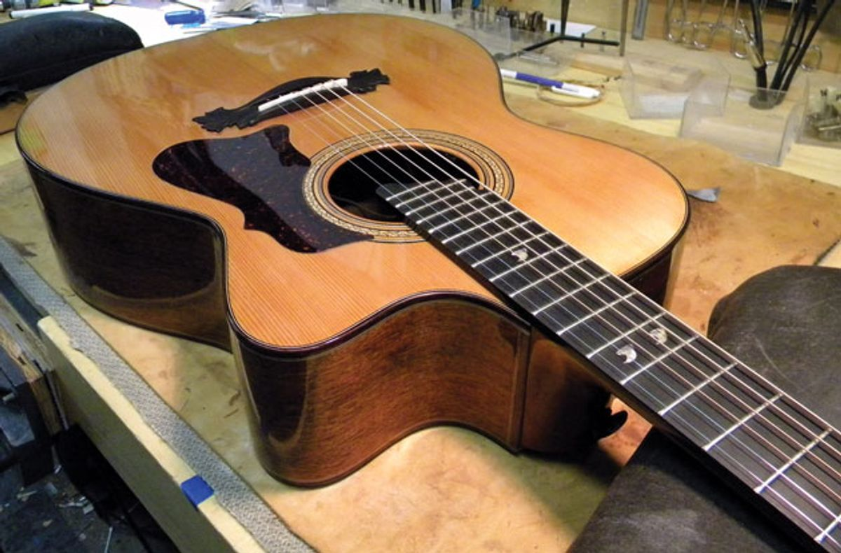 Guitar Shop 101: Squeezing More Life Out of Worn Frets
