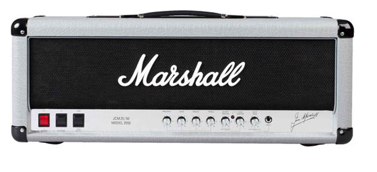 Marshall Amplification Reissues the Silver Jubilee 2555 Stack