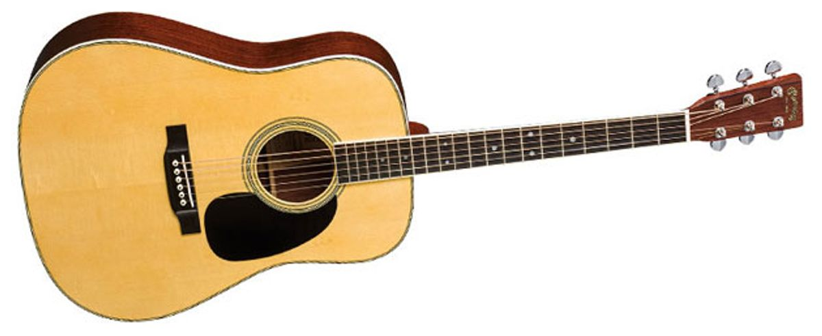 Martin Unveils the D-35 Brazilian 50th Anniversary Limited Edition