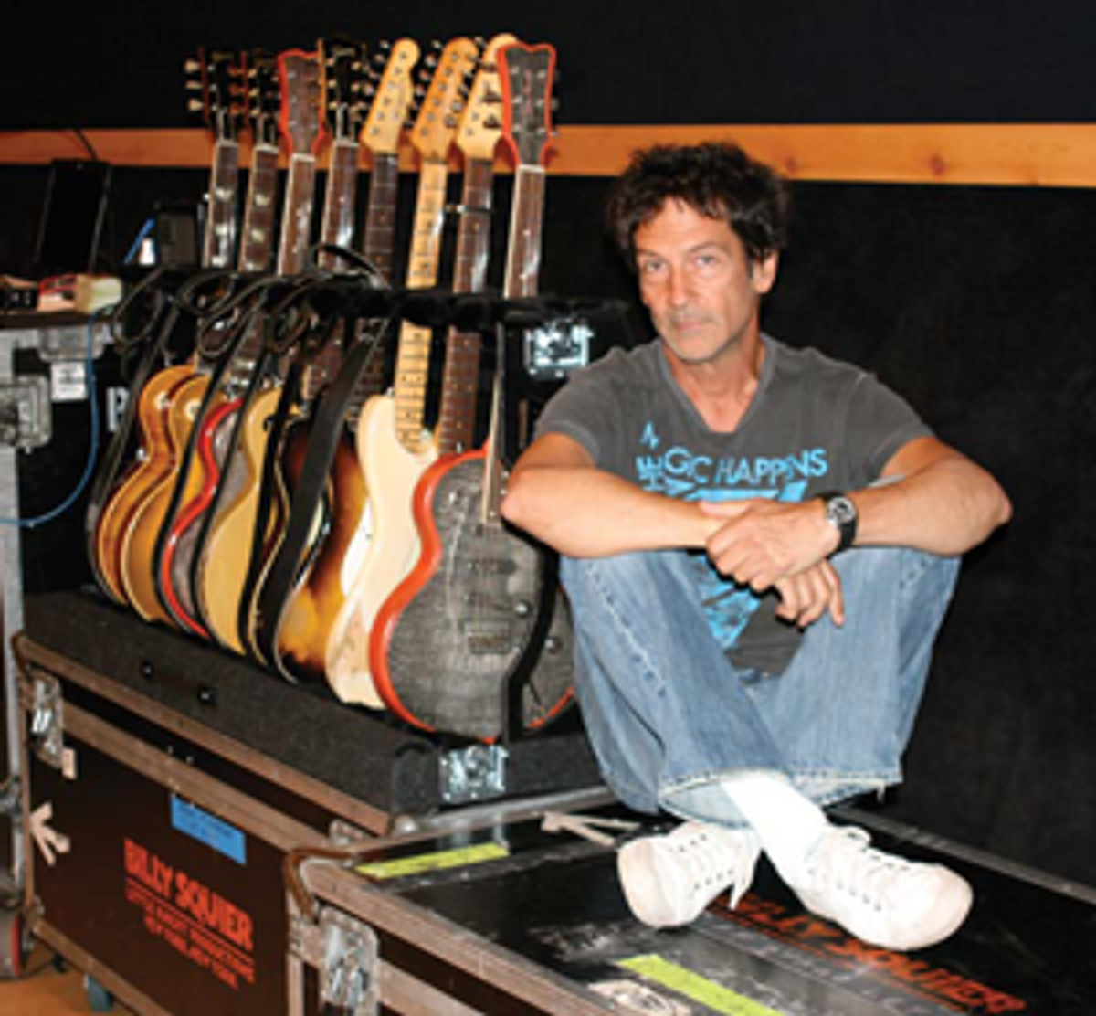 Gearing up with Billy Squier