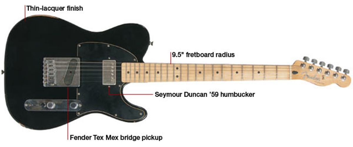 Fender Road Worn Player Series Telecaster Electric Guitar Review