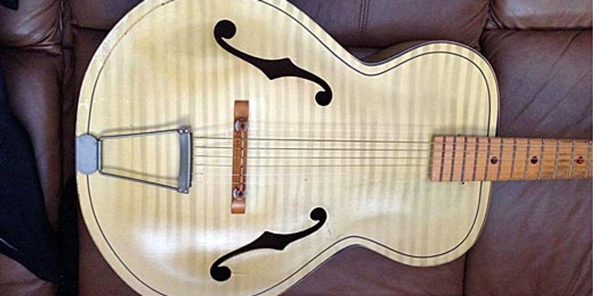 Guitar vintage serial numbers harmony Vintage Harmony