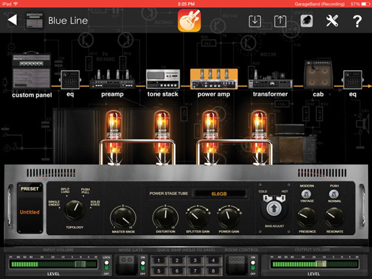 Positive Grid BIAS for iPad Review