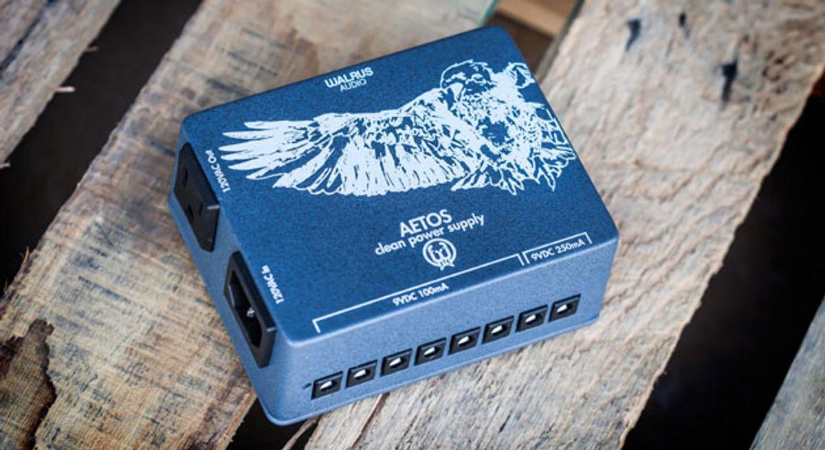 Walrus Audio Announces the Aetos Power Supply