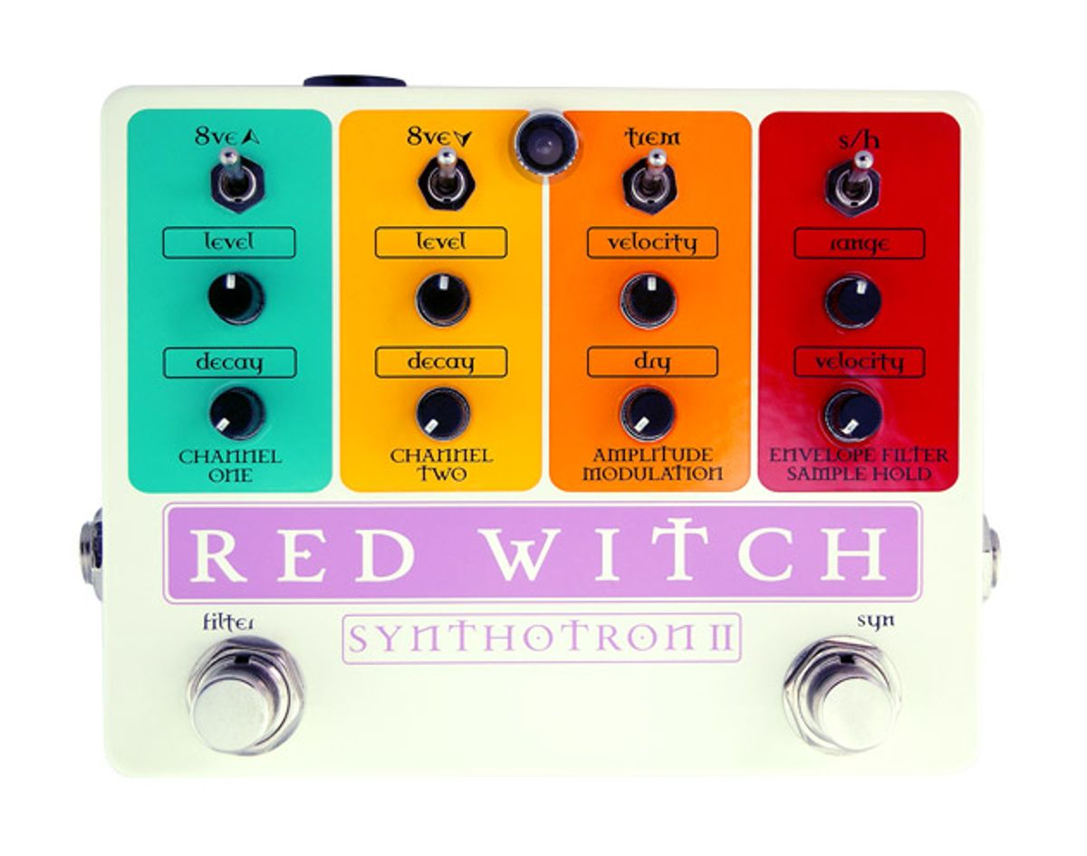 Red Witch Unveils the Synthotron II