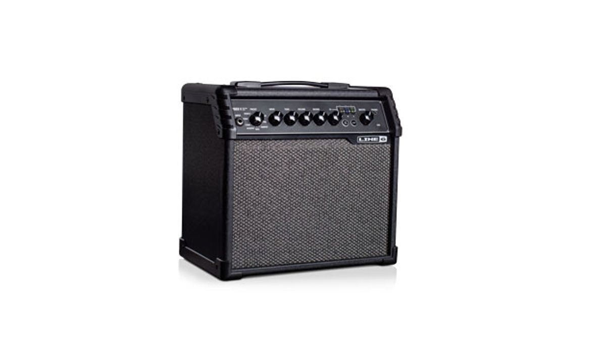 Line 6 Announces the Spider V 20 MkII Practice Amp