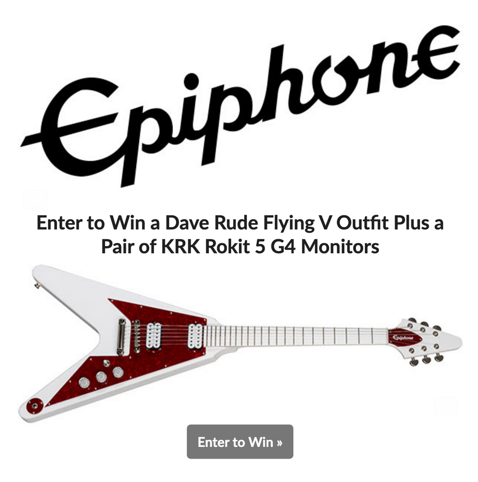 Epiphone giveaway