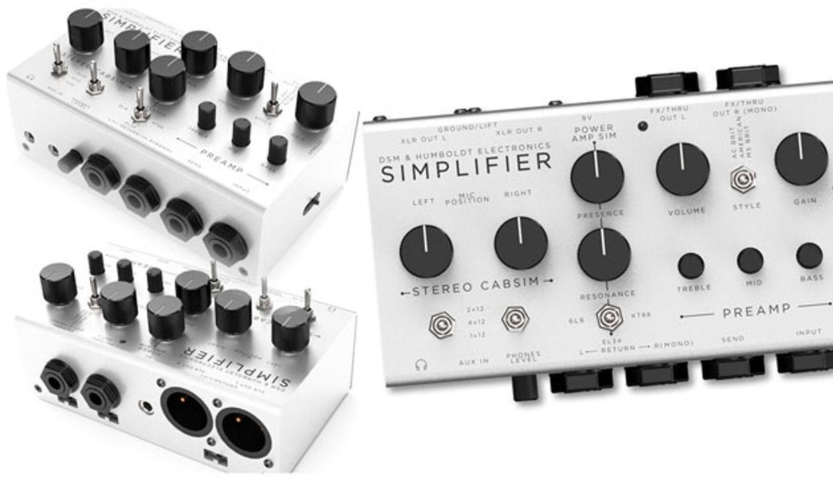 DSM & Humboldt Electronics Introduce the Simplifier