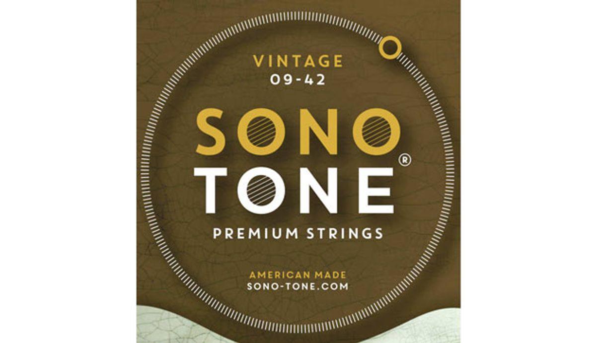 SonoTone Debuts Vintage Series Premium Electric Guitar Strings