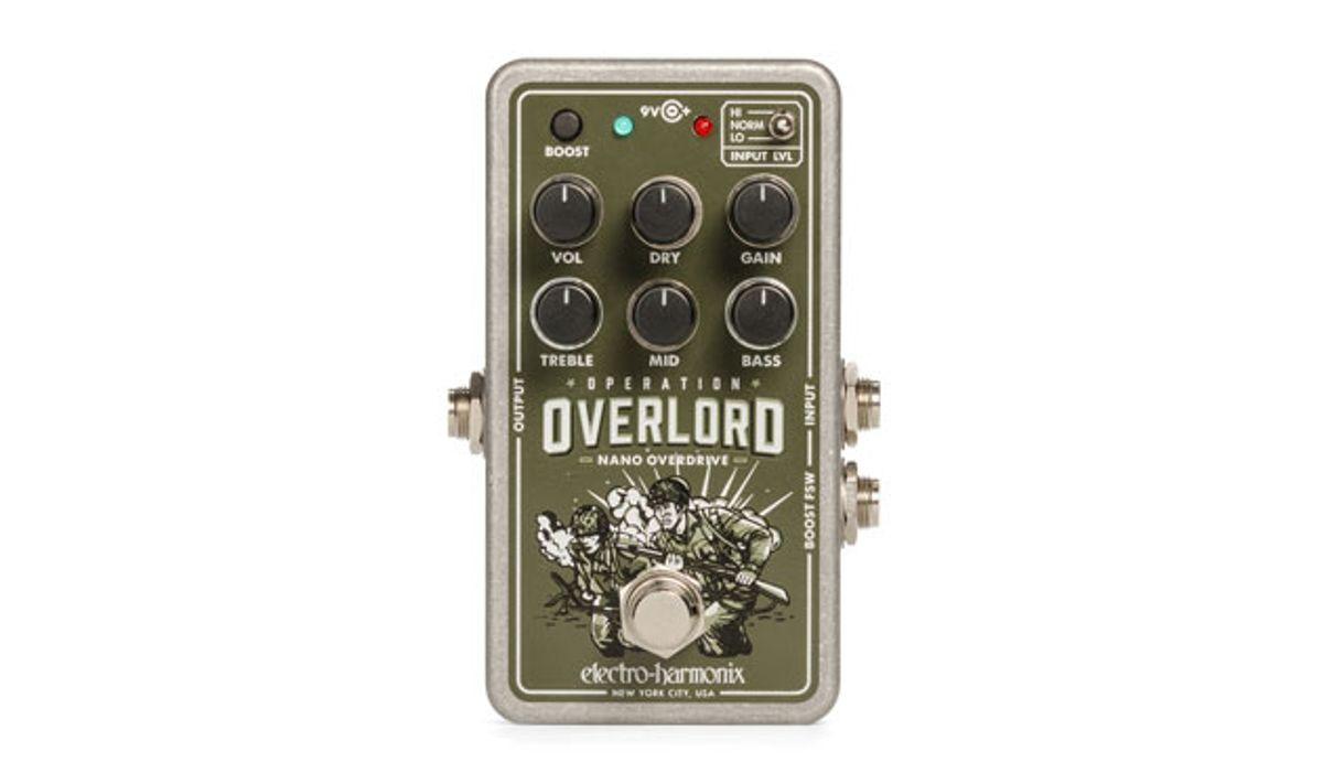 Electro-Harmonix Launches the Nano Operation Overlord