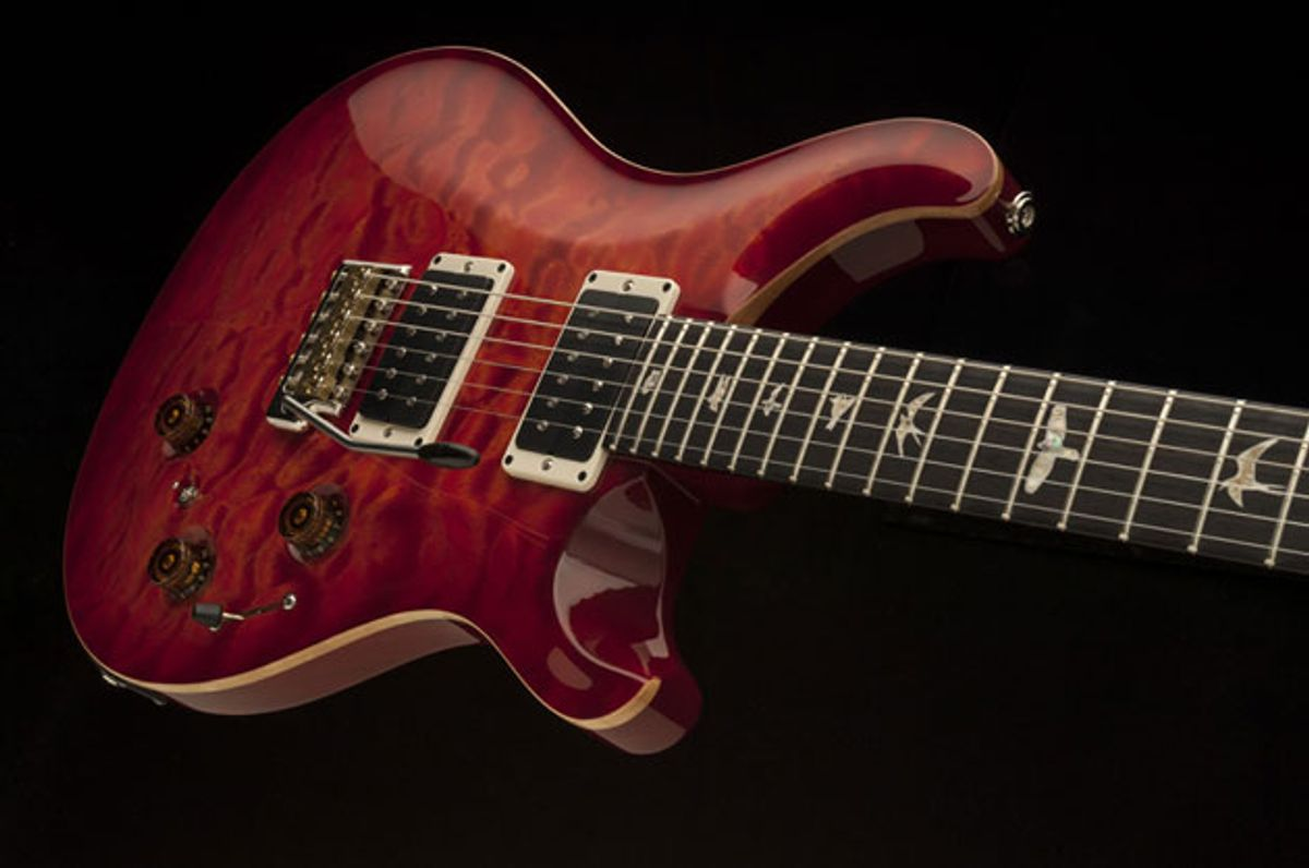 PRS Introduces P24 Trem and Floyd-Equipped Custom 24