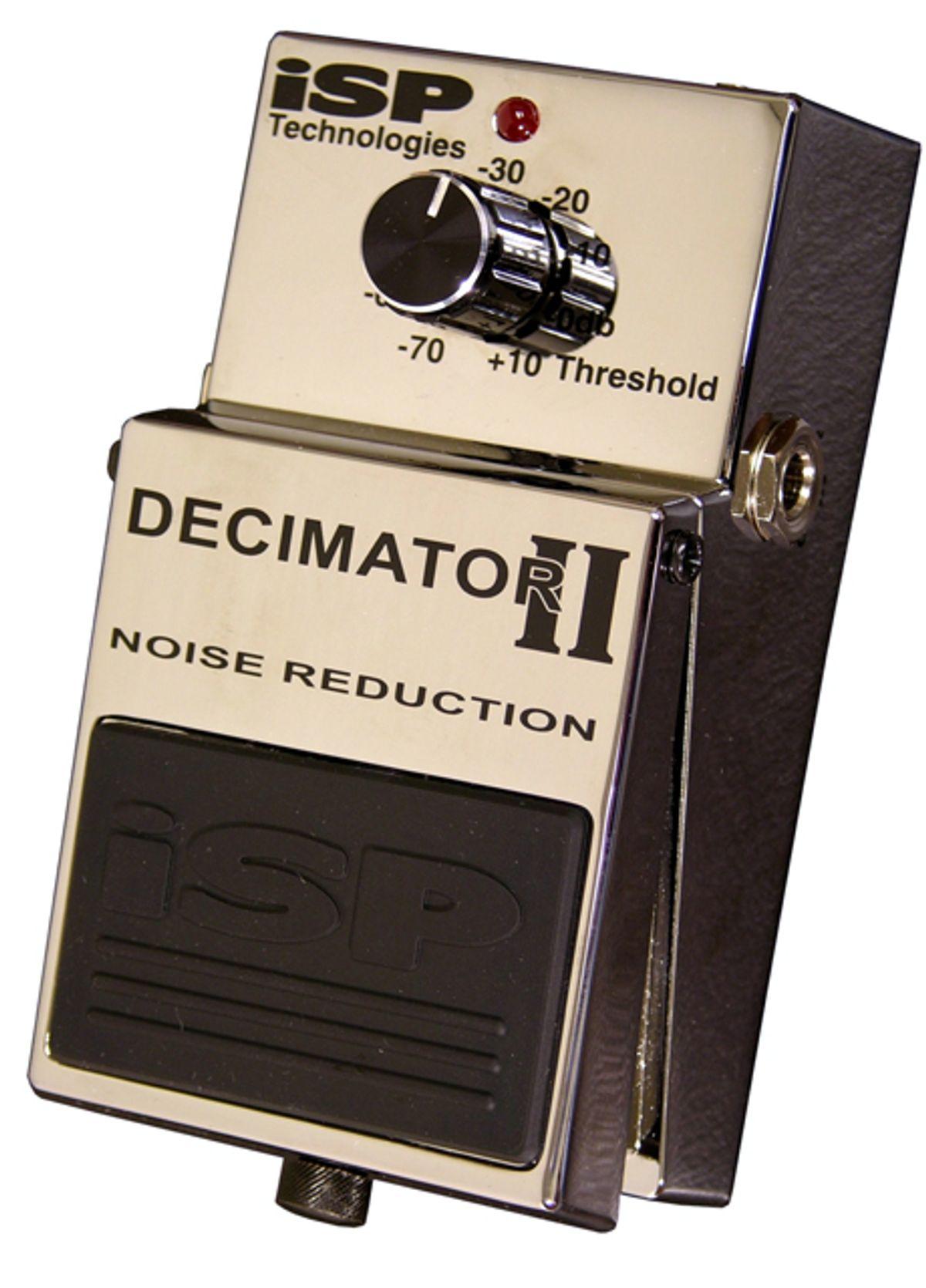 ISP Technologies Releases the Decimator II and Decimator G String II