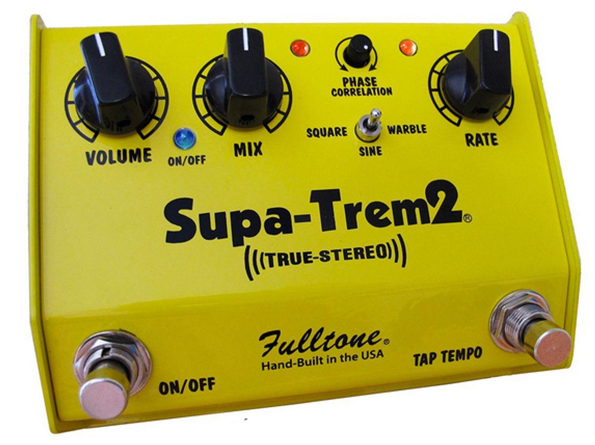 Fulltone Releases the Supa-Trem2