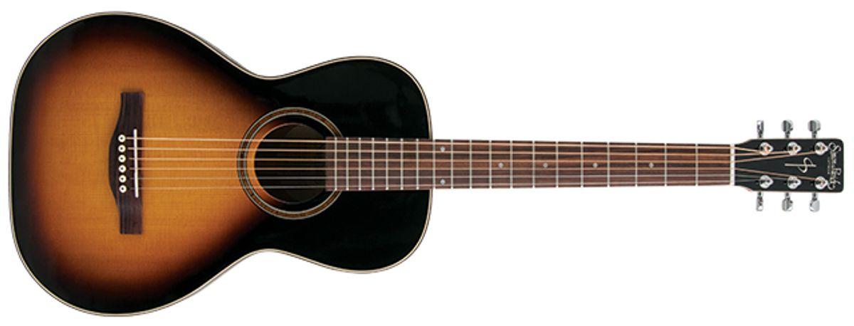 Simon & Patrick Woodland Pro Parlor Sunburst HG Acoustic Guitar Review