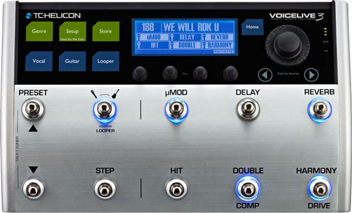 TC Helicon Announces VoiceLive 3